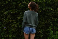 L'S FASHION DIARY: OLIVE X DENIM
