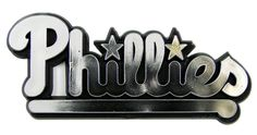 Philadelphia Phillies Silver Auto Emblem