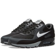 Nike Air Max 90 Essential (Black, Anthracite & White)