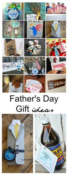 Father's Day Ideas| Make something really special for your husband with the kids this Father's Day with these Father's Day Gift Ideas.