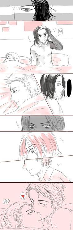 morning kiss by heylia13 on DeviantArt