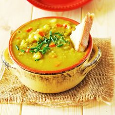 Split Pea Soup (Vegan)