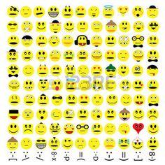 smiley traurig: mehr als hundert verschiedene Emoticons
