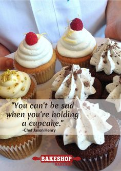 Come on in & be happy. #smiles #cupcakes #treats #desserts #cookies #cheesecake #pops #brownies #quiche #oakland www.bakeshopoakland.com