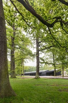 New Stables in Listed National Park   Bertelsen & Scheving Architechts   Archinect