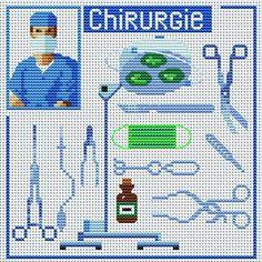 cirugia Needlepoint Patterns, Counted Cross Stitch Patterns, Cross Stitch Embroidery, Stitches Medical, Graph Design, Swedish Weaving, Little Stitch, Mini Cross Stitch, Alpha Patterns