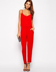 Enlarge Lipsy Jersey Jumpsuit with Cami Straps
