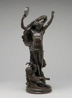 Genius of the Dance Artist: Jean-Baptiste Carpeaux (French, Valenciennes Courbevoie) Date: 1864 Culture: French, Paris Medium: Bronze Dimensions: 21 x 9 in. Statues, Carpeaux, Museum Studies, French Sculptor, Jean Baptiste, Small Sculptures, Objet D'art, Environmental Art, Metropolitan Museum