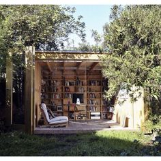 inthralld.com/...   I want this as an outdoor studio instead of an outdoor office:)  Its wonderful!