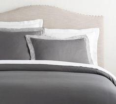 Tencel® Quilt Cover & Pillowcase - Flagstone | Pottery Barn AU