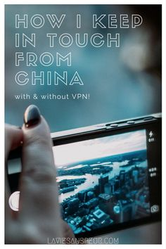 How I Keep In Touch While In China | With American Friends and Family America US United States living expat studying abroad study from china…