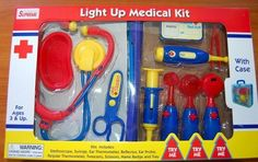 Light Up Medical Kit [Toy], 2015 Amazon Top Rated Medical Kits #Toy