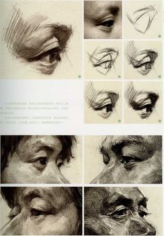 Amazing Learn To Draw Eyes Ideas. Astounding Learn To Draw Eyes Ideas. Academic Drawing, Drawing Studies, Art Studies, Life Drawing, Figure Drawing, Drawing Sketches, Art Drawings, Drawing Art, Anatomy Art