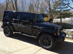jeep rubicon 2014 black. 2014 jeep wrangler unlimited altitude blacku0027d out rubicon black