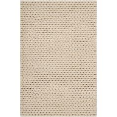 Found it at Wayfair - Alvin Hand-Woven Ivory Area Rug