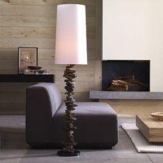 corner modern fireplace