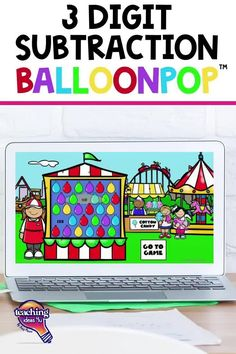 Are you looking for a fun and engaging way to review 3 Digit Subtraction with your 3rd Grade students? Check out BalloonPop™!
