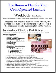 The Business Plan for Your Coin Operated Laundry