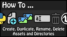 Unreal Engine 4 - How To Create, Duplicate, Rename, Delete Assets and Directories Using Python ──────────────────────────────────────────────────── GitHub ► . English Channel, Unreal Engine, Python, Engineering, French, Create, Youtube, French People, French Language