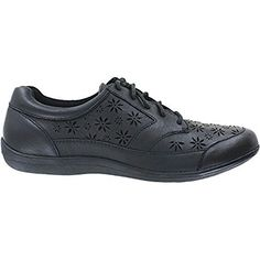 86977225936 Revere Orlando Womens Comfort Shoe with Removable Foot Bed BlackLazer 120  MediumWide BD Lace * Read more at the image link.