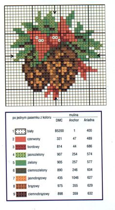 Free Christmas cross stitch Pine cone bundle with color chart Cross Stitch Christmas Ornaments, Xmas Cross Stitch, Cross Stitch Cards, Christmas Embroidery, Counted Cross Stitch Patterns, Cross Stitch Designs, Cross Stitching, Cross Stitch Embroidery, Hand Embroidery