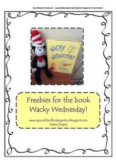 """In this pack you will find name tags and an activity sheet to go along with the book """"Wacky Wednesday"""" by Dr Seuss."""