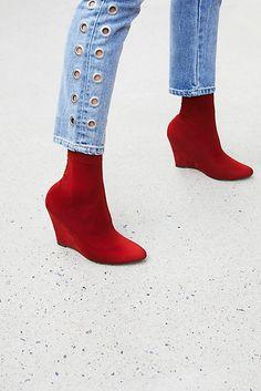 Slide View 1: Vegan Luxe Sock Boot