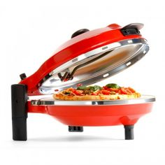 New Wave The Pizza Maker Just Pizza Oven - Red For $129.95   Kitchenware Superstore