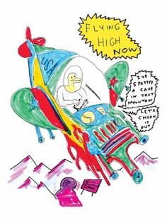 Daniel Johnston - Space Ducks: An Infinite Comic Book of Musical Greatness #1