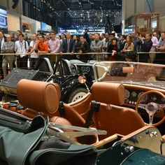 Morgan launch new Aero 8 at Geneva Motor Show 2015