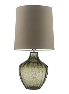 Vivienne Large Natural Green Table Lamp - Heathfield & Co