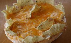 Sencillo dip de pollo y queso cheddar