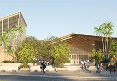 The Lycée Tani Malandi on the small island of Mayotte presents us with special challenges. Building a school in Mayotte means dealing with various pedagogical, socio-economic and ecological questions. Clay, wood, bamboo, basalt – these omnipresent natural materials emphasise the close relationship between the school and its surroundings, between nature and architecture. #urban #planning #social #stustainability #green #materials #timber #construction #cpmpetition #winner Green Materials, Natural Materials, Small Island, Urban Planning, Ecology, Bamboo, Challenges, Presents, Clay