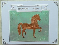 Horse Iris Fold