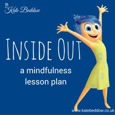 Inside Out Mindfulness Lesson Plan. This pin uses the movie Inside Out to talk about mindfulness and what it can be like to grow up. Mindfulness For Kids, Mindfulness Activities, Mindfulness Practice, Mindfulness Therapy, Teaching Mindfulness, Mindfulness Training, Mindful Activities For Kids, Mindfulness Benefits, Counseling Activities