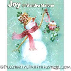 Joy e-Pattern - Sandra Malone - PDF DOWNLOAD