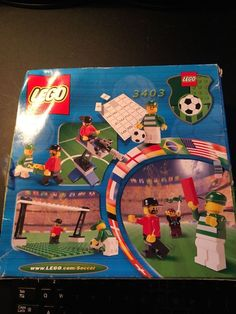 LEGO 3403 Fans Grandstand With Scoreboard IN SEALED BOX Soccer