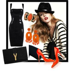 """Orange Salsa"" by jacque-reid on Polyvore"
