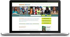 Koritha Mitchell Website | Custom Design + Development: http://www.korithamitchell.com