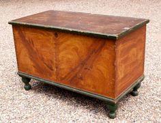 antique blanket chest | Blanket Chest 19th Century Pennsylvania | David M. Mancuso Antiques