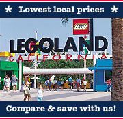 LEGOLAND® Carlsbad California Transportation & Admission (Bus)