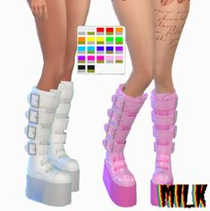 theoriginalmilk: 🅘🅝🅕🅞 →original mesh from ea. Sims 4 Cas Mods, Sims 4 Body Mods, Sims 4 Mm Cc, Sims Four, Sims 4 Mods Clothes, Sims 4 Clothing, Play Sims 4, The Sims 4 Skin, Sims 4 Anime