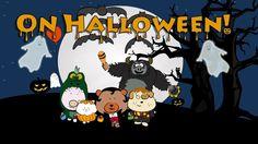 "Halloween song for children ""On Halloween"" - The Singing Walrus"