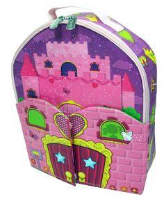 ZipBin Doll House Bring-Along Backpack great gift idea