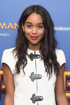 """Laura Harrier attends the """"Spiderman: Homecoming"""" New York First Responders' Screening at Henry R. Luce Auditorium at Brookfield Place on June 26, 2017 in New York City."""