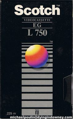 Scotch L 750 beta video cassette tape | Flickr - Photo Sharing!