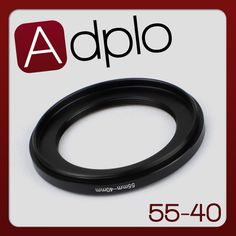 55-40mm 55mm to 40mm Step Down Ring Lens Filter Adapter Ring Aluminum