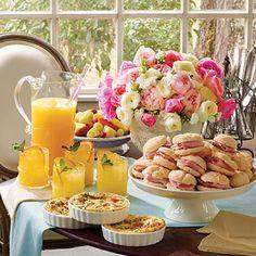 Beautiful brunch table.