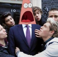 I would have that same face. Hahahaha I just love that surprised Patrick face.