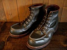 REDWING 8180 Dinite Sole + Piping Brown | BRASS BLOG